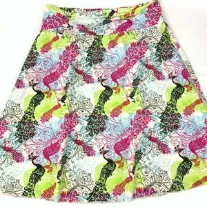 Tranquility by Colorado Peacock Skirt Small